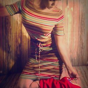 Ralph Lauren Striped dress Sz:M like new